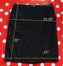PERSONA MARINA RINALDI sz23 us14 eu52 skirt stretch cotton pencil midi knee