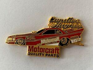 NHRA Candies & Hughes Motorcraft Pin