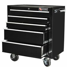 Rolling Tool Chest Cabinet Box 5 Drawer Garage Shop Tool Organizer Storage NEW