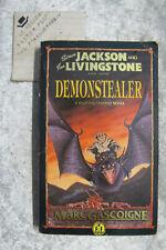 Demonstealer - Marc Gascoigne fighting fantasy OzSellerFasterPost!