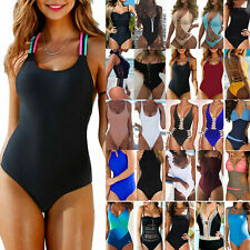 Women One-Piece Swimsuit Bikini Swimwear Monokini Swimming Costume Bathing Suit