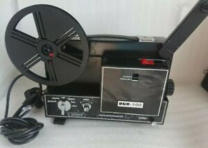 Dual 8 Duo-100 Super 8 8mm Regular 8 Vintage Cine Reel Film Movie Projector