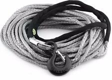 Smittybilt XRC Synthetic 8,000 lb. 100 Foot Winch Rope Kit w/ Hook & Thimble