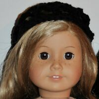"""AMERICAN MADE DOLL CLOTHES FOR 18 INCH GIRL DOLLS DRESS LOT """"BLACK HAT"""""""