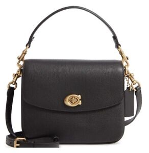 Coach Cassie Leather Top Handle Bag. Genuine. New. Lost Tags. Retail $295