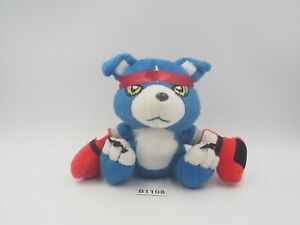 "Gaomon B1108 Digimon Data Squad Saver POPY 2006 5"" Plush Vibrating Toy Doll"