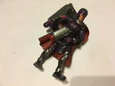 MARVEL LEGENDS X-MEN CLASSICS MAGNETO FIGURE MAGNUS HELMET COMPLETE ACCESSORIES