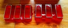 1969 Ford Mustang Tail Light Lens and Outer Bezels  KIT  New