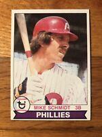 1979 Topps Mike Schmidt Philadelphia Phillies #610 Baseball Card