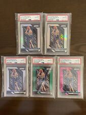 2018-19 Prizm Silver Pink Ice Green Michael Porter Jr RC Rookie PSA 10 Lot Look!