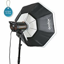 "Godox Octagon Softbox 120cm 47"" Bowens Mount for Studio Strobe Flash Light"