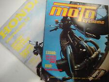 MOTOCYCLISME 1973 N°45 DUCATI 750 SPORT / SUZUKI 550 GT/ HONDA XL 250 + 350 FOUR