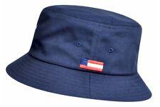 Kangol Men's Nations USA Navy Fashion Cotton Bucket Hat Sz: M
