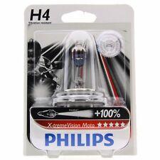 H4 Philips X-tremeVision Moto bis zu 100% mehr Licht 12342XV Blister 1 Stück