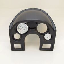 Lund Boats 2017330 Black Plastic Marine Dash Panel w/ Speedometer / Trim