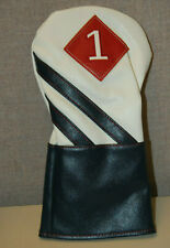 Callaway Vintage Driver Headcover White / Navy / Red