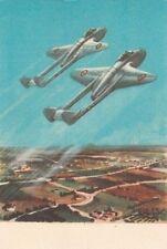 A2973)  DE HAVVILAND DH-100 VAMPIRE, CORSO AMMISSIONE AERONAUTICA MILITARE.