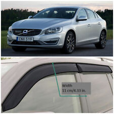 VE10910 Window Visors Guard Vent Wide Deflectors For Volvo S60 II Sd 2010-2017