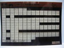 Kawasaki KZ750 1980 - 1981 Parts Microfiche NOS k377