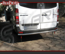 MERCEDES SPRINTER 06-13 REAR BAR, REAR BULL BAR + GRATIS!!! STAINLESS STEEL