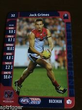 2015 Teamcoach (32) Jack GRIMES Melbourne
