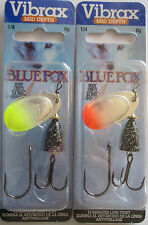 BLUE FOX - Classic Vibrax Spinners - Size 3 - 1/4 oz. -  Two Great Colors!