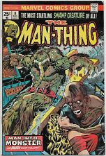 Man-Thing #8 (Marvel 1974) VF+: The Fountain of Youth