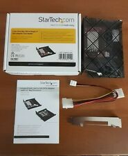 More details for startech 3.5in drive bay ide to single cf ssd adapter card reader