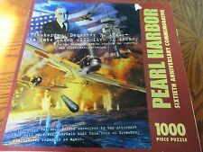 Pearl Harbor 1000 Piece Jigsaw Puzzle 16th Anniversary Commemorative Ages 12+