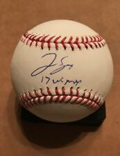 George Springer Signed Autographed ROMLB Houston Astros WS MVP JSA