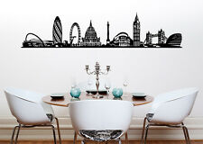 London Skyline Kitchen Dining Living Bedroom Decal Wall Art Sticker Picture 2