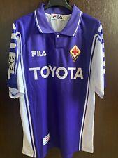 Maglia RUI COSTA FIORENTINA 99-00 no Match Worn toppa Champions shirt vintage
