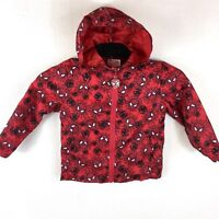 Official MARVEL SPIDERMAN Rain Cover Proof Mac Jacket Kids 2-3 Yrs S143