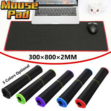 30x80cm Game Large Mouse Pad Mat Desk Keyboard Anti Slip For PC Laptop Computer
