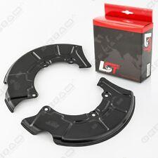 2x Placa de cubierta disco freno guardapolvo anclaje Delantero para AUDI A3