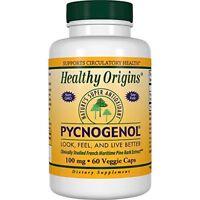 Healthy Origins Pycnogenol (Nature's Super Antioxidant) 100 mg, 60 Veggie Caps