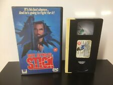 STICK - BURT REYNOLDS - Ex Rental - Big Box - VHS Tape