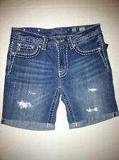 Miss Me Boyfriend  Denim Shorts  NWT Sz 28 Or 29 $94