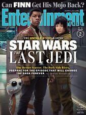 STAR WARS ULTIMO JEDI LAST JEDI MANIFESTO ENTERTAINMENT WEEKLY COVER BOYEGA FINN