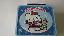 Hello Kitty Winter Metal Lunchbox