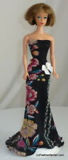 Romantic Floral Handmade for Vintage Reproduction Silkstone Barbie Dress 43
