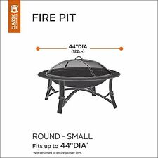 Classic Accessories Veranda 44-Inch Round Fire Pit Cover