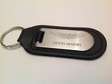 ASTON MARTIN Key Ring Blind Etched On Leather VANTAGE DB9 7 VANQUISH RAPIDE