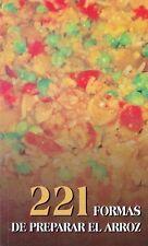 221 FORMAS DE PREPARAR ARROZ Recipes  Cuban Cuisine Cook Book Food Cocina Cuba