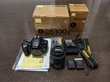 Nikon D5100 16.2MP Digital SLR Camera Body Kit AF-S DX VR 18-55mm F3.5-5.6 Lens