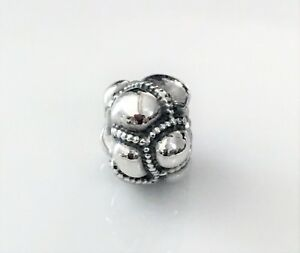 NEW AUTHENTIC PANDORA Charm Bead 790401 Patchwork Sterling Silver $35