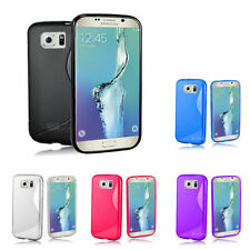 Unbranded/Generic Silicone/Gel/Rubber Plain Mobile Phone Cases, Covers & Skins for Samsung Galaxy S6