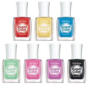 Sally Hansen Sugar Coat Textured Nail Polish *Choose Your Color* Twin Pack*