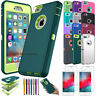 """Rugged Rubber Hard Shockproof Cover Case for iPhone 8 7 6 6s 4.7"""" / 5.5"""" Plus"""