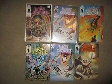 Lot of The Bozz Chronicles #1-2-3-4x2-6  Epic Comics 1985-1986 David Michelinie